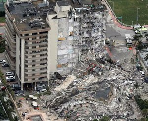 Florida building collapse leaves at least 4 dead, 159 missing