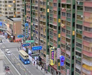 In Hong Kong, model makers reproduce the city of yesteryear in miniature