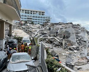 """""""Major structural damage"""" noted in 2018 on the collapsed building in Florida"""