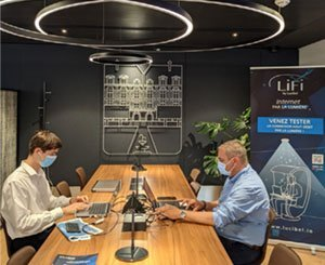 In a world first, Lucibel installs LiFi in a station