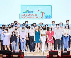 Winners of the Les Génies de la construction competition
