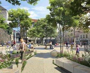 In Lyon, green town planning in small touches