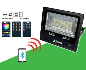 A new smart color led e-spot at Ribimex