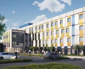 Construction of a new building for the Nord-Ouest-Villefranche Hospital