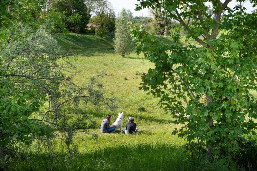 The Sathonay-Camp arboretum. © Thierry Fournier. Lyon metropolis