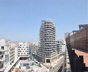 Higher Roch in Montpellier reaches the top