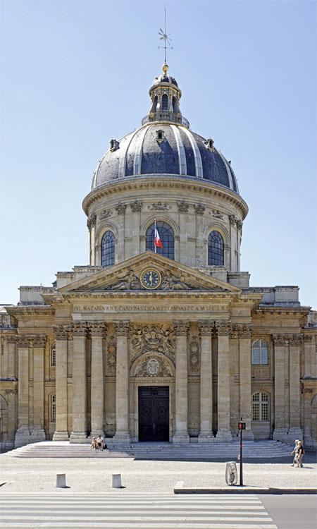 Institut de France, Paris - © Dennis Jarvis via Wikimedia Commons - Creative Commons License