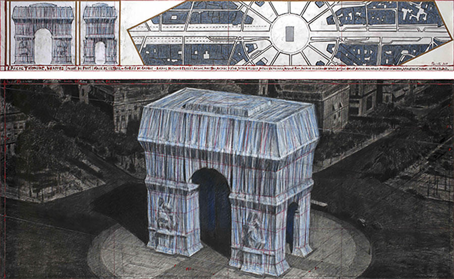Artist's impression of the project - © Center des Monuments Nationaux