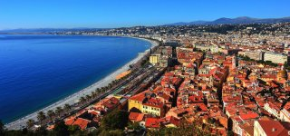 Nice, a resort town, is included in the Unesco World Heritage list