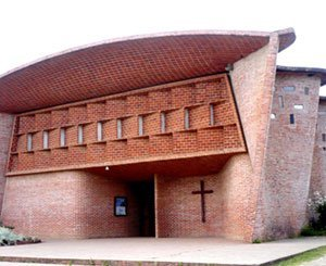 The church of Eladio Dieste in Uruguay, listed as a UNESCO World Heritage Site