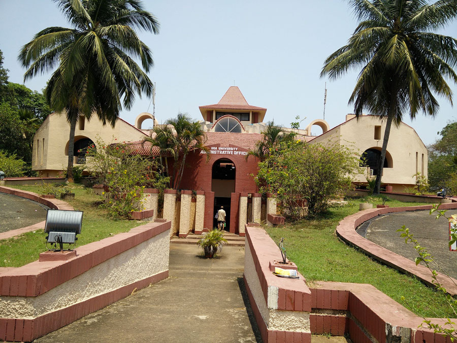 University of Goa Administrative Building - © రహ్మానుద్దీన్ via Wikimedia Commons - Creative Commons License