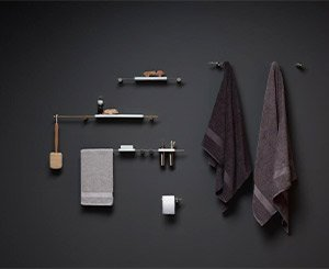Elementa, new series of Ritmonio accessories for unique and highly personalized bathrooms