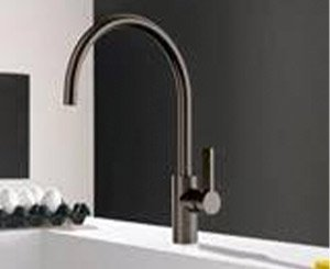 Dornbracht expands its range of kitchen taps with new dark colors