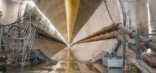 """Extension of the RER E in Paris, a giant underground construction site in a """"pocket handkerchief"""""""