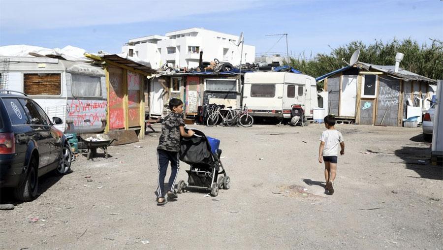 Montpellier slum - © RicPar via Twitter