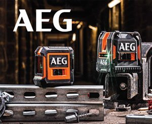 AEG launches its range of laser measuring instruments for professionals