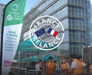 Fourth stage of the Train de la Relance in Rennes