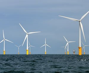 France's first offshore wind farm has its head out of the water