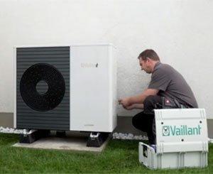aroTHERM plus - Heat pump installation