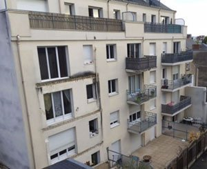 Five people sent back to correctional after the collapse of a balcony in Angers in 2016