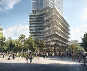 """Paris launches its massive greening project with a first """"urban forest"""" in Montparnasse by 2024"""