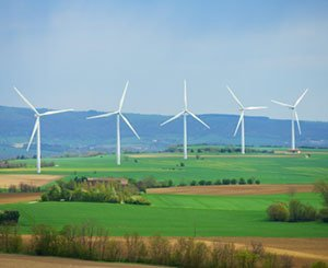 A large majority of French people favor wind power