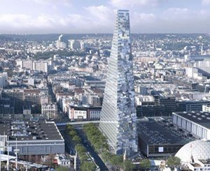 The signing of Unibail for the construction of the Triangle Tower expected by the end of October, according to the town hall