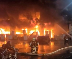 46 dead in building fire in Taiwan, one of the deadliest in the world