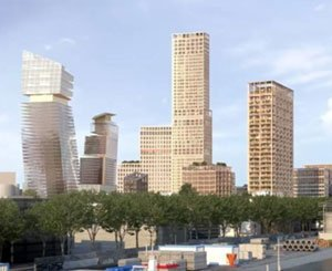 A 100-meter tower project in Paris on the banks of the Seine thwarted