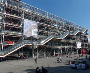 Renovation work on the Pompidou center postponed until after the Olympics