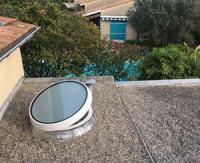 Slick inside rond de Bluetek, la nouvelle fenêtre de toit aux performances élevées