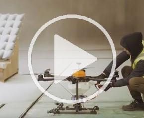 Jules Verne : essais drones en soufflerie climatique