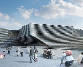 Un nouveau musée du design Victoria & Albert à Dundee en Écosse