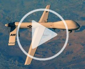 Piste d'atterrissage pour les drones en Virginie