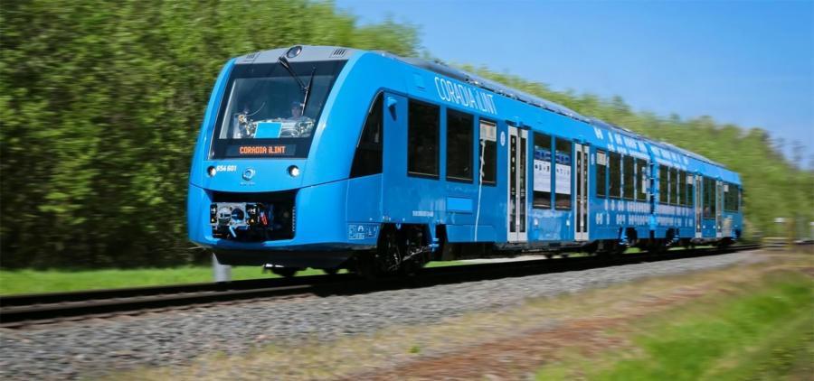 Alstom lance l'aventure du train à hydrogène