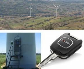 Renvico choisit Locken pour sécuriser ses parcs d'éoliennes
