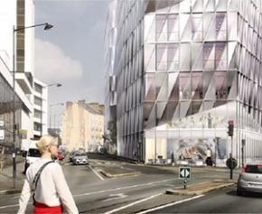 Un projet de construction d'une tour de 90 mètres à Rennes fait grincer des dents