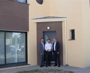 1ère maison NF Habitat HQE™ et E+C- d'Île-de-France signée Maisons Berval et...