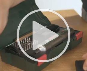 Visseuse tournevis sans fil Bosch Pushdrive