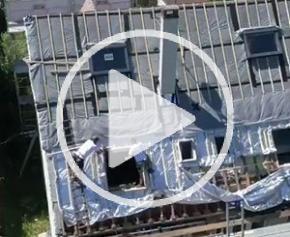 Rénovation de la toiture d'une maison en région parisienne avec la solution TRISO-SUPER 12 BOOST'R'