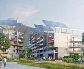 Lancement des travaux du premier concept de bâtiment autonome en France