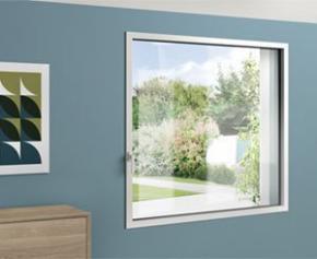 siMple, la fenêtre : INVISIBLE   FINE   SOLIDE