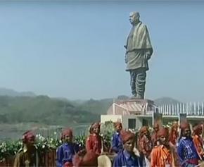 L'Inde inaugure sous haute sécurité la plus grande statue du monde