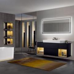 Salle de bains alliant design épuré et technologie raffinée