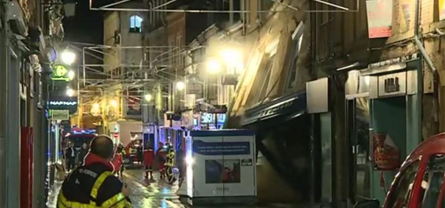 Le logement insalubre ne concerne pas que Marseille : un immeuble s'effondre à Charleville-Mézières