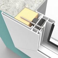 Vis réglable et polyvalente pour la pose de menuiseries en neuf et en rénovation