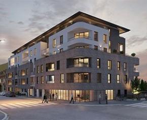 Lancement de la construction du premier immeuble doté d'une façade dépolluante...