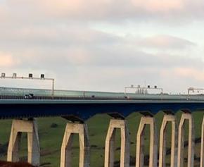 Le viaduc d'Echinghen dans le Pas-de-Calais entre dans une phase de travaux