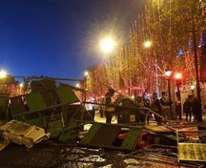 Entre 3 et 4 millions d'euros de dégâts à Paris après les manifestations des...