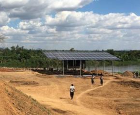 Un système d'irrigation efficace au Malawi grâce à l'énergie solaire